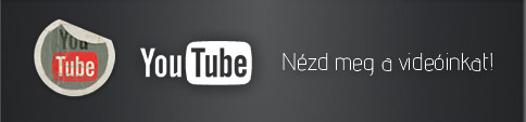 Nézd meg a videóinkat a YouTube-on!